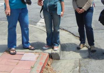 "In late June, Andrew Alden documented the demise of the geologically significant curb. ""It is no more,"" <a href=""https://oaklandgeology.wordpress.com/2016/06/27/loss-of-an-icon-the-hayward-faults-roseprospect-curb/"">he wrote</a>. ""Come back in 20 years."""