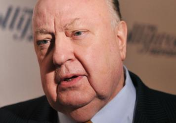 "Fox News Channel chief Roger Ailes attends a 2012 <em>Hollywood Reporter</em> celebration of ""The 35 Most Powerful People in Media"" in New York City."