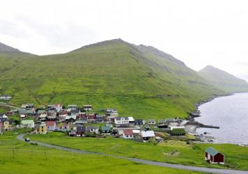 The village of Funningur is one of the scenic delights of the Faroe Islands. The archipelago's tourist board has a campaign for better Google Street View mapping called SheepView 360.