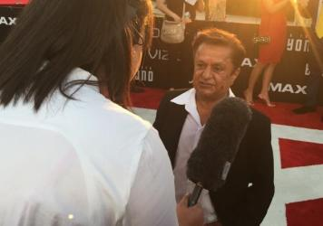 Deep Roy, who plays Keenser: suspicion.