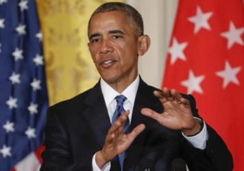"President Obama slammed Republican nominee Donald Trump as ""unfit"" and ""woefully unprepared"" to be president during a news conference with Singapore's prime minister at the White House on Tuesday."