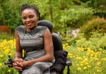 Georgina Mumba's activism for inclusion of people with disabilities brought her to the United States as one of 1,000 Mandela Washington Fellows under President Obama's Young African Leaders Initiative.