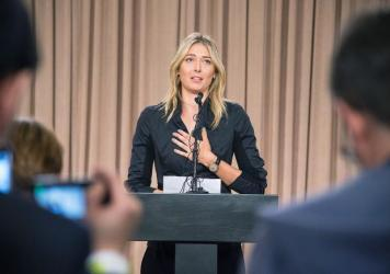 Russian tennis star Maria Sharapova isn't competing at the 2016 Olympics. At a March 7 press conference in Los Angeles, she told reporters she'd tested positive for meldonium, a prescription heart drug that improves blood flow. It was banned in January b
