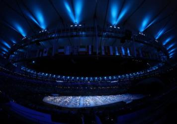 """I hope that the Opening Ceremony will be a drug for depression in Brazil,"" film director Fernando Meirelles said of the show in Rio de Janeiro."