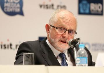 "Sir Philip Craven, president of the International Paralympic Committee, announces Sunday that the entire Russian Paralympic team will be barred from next month's games in Rio de Janeiro. ""The anti-doping system in Russia is broken,"" he said."
