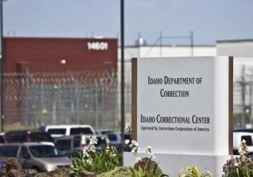 The Idaho Correctional Center south of Boise, Idaho, is a contract facility operated by Corrections Corporation of America. The Justice Department says it is phasing out its relationships with private prisons after a recent audit found they have more saf