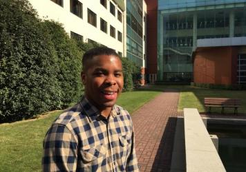 Jeffrey Wood has been studying at the Hopkins-Nanjing Center for Chinese and American Studies. He is now preparing for a career as a diplomat.