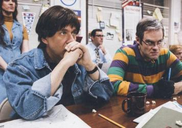 Fred Armisen and Bill Hader parody <em>The War Room</em> in the new season of <em>Documentary Now!</em>