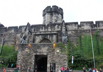 The hulking, shuttered Eastern State Penitentiary, a short walking distance from Philadelphia's downtown, was in many ways the first modern American prison. Almost from its opening in the early 19th century, there were people calling for it, and prisons