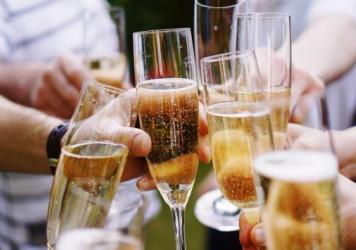 Toasting with Champagne is not just for holidays and formal occasions.