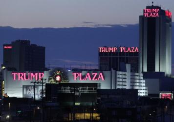The Trump Plaza Hotel and Casino in Atlantic City before it closed on Sept. 16, 2014.