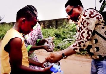 "Nigerian pop star Sunny Neji hopes that his music video, ""Wash Your Hands O!,"" inspires kids to scrub up."