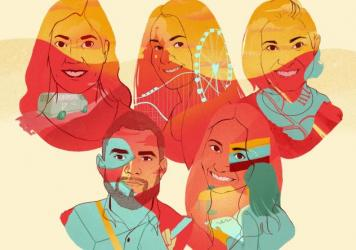 When Latino colleagues from across NPR shared their families' immigration stories for Hispanic Heritage Month, they exposed a rich array of experiences: loss, longing, contradiction and triumph.