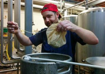 Chad Sheridan, a cellarmaster at Lakefront Brewery and expert on braggots, helped re-create a recipe for an ancient alcoholic brew discovered in a 2,500-year-old burial plot in what's now Germany.