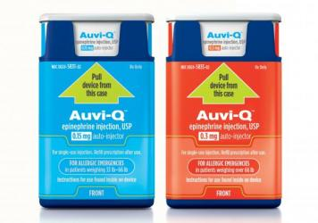 Auvi-Q was pulled from the market in 2015 because of quality concerns. The drug's maker says the problems have been solved and that the product will be available in 2017.