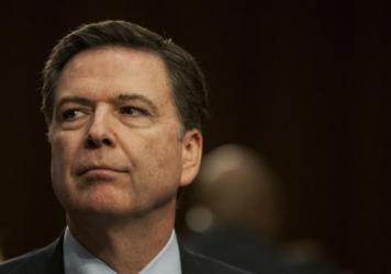 FBI Director James Comey testifies before the Senate Select Committee on Intelligence at the Hart Senate Building on Feb. 9 in Washington, D.C.