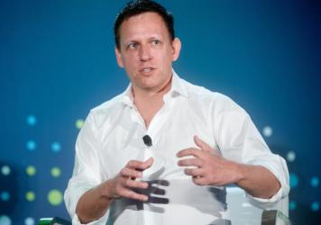 "While much of Silicon Valley has supported Hillary Clinton, billionaire investor Peter Thiel is backing Donald Trump. ""We're voting for Trump because we judge the leadership of our country to have failed,"" Thiel says."