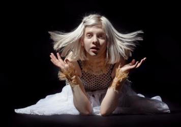 Aurora Aksanes is a 20 year old singer from Norway who is small but with a big heart.