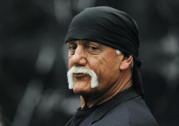 Hulk Hogan, whose given name is Terry Bollea, waits during a break in his trial in March 2016 against Gawker Media in St. Petersburg, Fla.