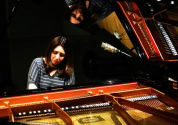 Simone Dinnerstein plays <em>The Cohen Variations</em>, by Daniel Felsenfeld in the NPR studios