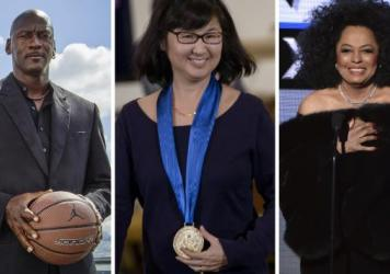Michael Jordan, artist Maya Lin and Diana Ross were announced as some of the 21 honorees of the 2016 Medal of Honor, the nation's highest civilian honor.