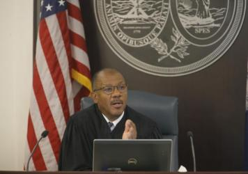 Judge Clifton Newman addresses the jury last week in the murder trial of former North Charleston, S.C., police Officer Michael Slager.