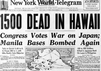"President Franklin Roosevelt was ""totally caught off guard"" by the bombing of Pearl Harbor, says Roosevelt biographer Jean Edward Smith."
