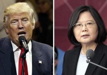 """President-elect Donald Trump spoke last Friday with Taiwan's President Tsai Ing-wen. In her first public comments, Tsai said Tuesday that observers should not read too much into the conversation. """"I do not foresee major policy shifts in the near future,"""""""