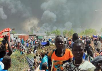Earlier this year, thousands of South Sudanese civilians fled an attack by armed gunmen on a displaced persons compound run by the U.N. in the northeastern town of Malakal.