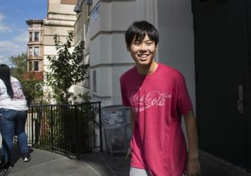 Colin Ozeki, a high school student with autism, is on track to graduate this year from Millennium Brooklyn High School with an advanced diploma.
