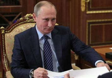Russian President Vladimir Putin in a meeting at the Kremlin in Moscow. U.S. intelligence agencies agree that Russia intervened in the presidential election to help Donald Trump.