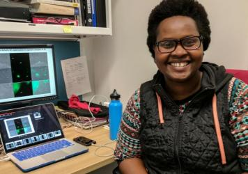 Mireille Kamariza, a graduate student in Stanford, is trying to develop a faster test to diagnose TB.