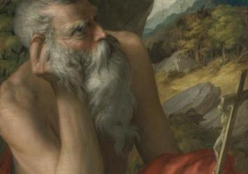 <em>St. Jerome </em>was previously thought to have been painted by a 16th century Italian artist. According to a complaint filed by Sotheby's auction house, it is actually a modern fake, painted in the 20th century.