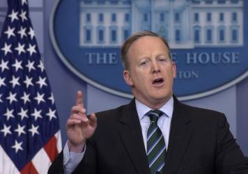 White House press secretary Sean Spicer said Wednesday the president is adding lawyers to his staff to handle ethics complaints.