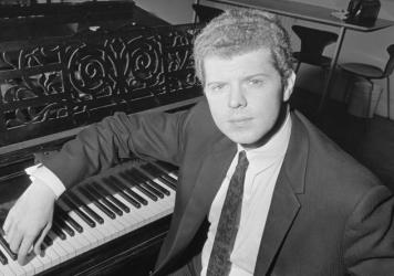 Van Cliburn in 1966. The late pianist pulled off a stunning victory at in 1958 at the first International Tchaikovsky Piano Competition, held in Moscow at the height of the Cold War.