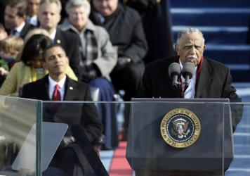The Rev. Joseph Lowery gave the benediction during the inauguration of President Barack Obama.