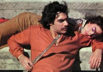 Dave Valentin, pictured on the cover of his 1981 album <em>Pied Piper</em>, died Wednesday at the age of 64.