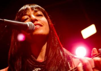Diana Gameros is one of the Tiny Desk Contest entrants featured on this week's <em>Alt.Latino</em>.