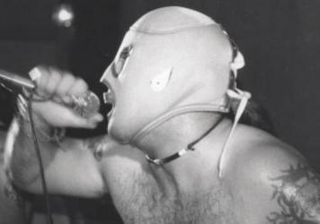 Punk <em>luchadores </em>are part of the south Texas music scene.