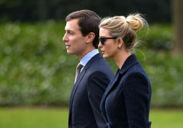 President Trump's daughter Ivanka and her husband Jared Kushner are both employees at the White House.