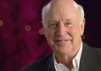 John Clarke, a comedian and political satirist beloved in Australia and New Zealand, has died at age 68. He's seen here in an undated photo provided by the Australian Broadcasting Corporation.
