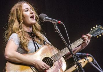 Margo Price performs on this week's episode of <em>Mountain Stage</em>.