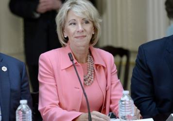 U.S. Secretary of Education Betsy DeVos announced several new hires this week, including Candice E. Jackson as deputy assistant secretary for the department's Office of Civil Rights and Josh Venable as chief of staff.