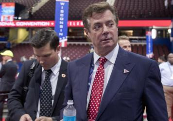 Ukrainian investigators are seeking to understand the extent of the ties Paul Manafort, shown here in July 2016, had with former Ukrainian President Viktor Yanukovych.