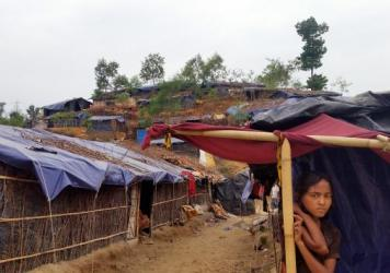 Some 2,000 Rohingya refugee families live in the Balukhali camp in southern Bangladesh, according to the camp's leader.