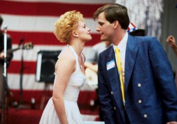 Melanie Griffith and Jeff Daniels were the stars of Jonathan Demme's <em>Something Wild</em>, but Demme's use of The Feelies (left) felt just as important.