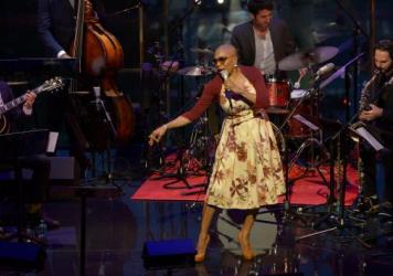 Dee Dee Bridgewater performs at Jazz At Lincoln Center.