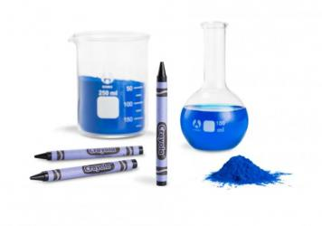 Crayola's new blue crayon is inspired by the YInMn pigment discovered at Oregon State University in 2009. It will replace Dandelion, the bright yellow hue that the company is retiring.