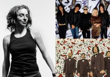Clockwise from left: Ani DiFranco, Blondie and Chicano Batman will perform at Non-Comm Wednesday evening.