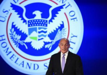 Homeland Security Secretary John Kelly, pictured in April, is extending the Temporary Protected Status designation for Haitians in the U.S. until January 2018. But he says conditions are improving in Haiti, seven years after an earthquake killed more tha